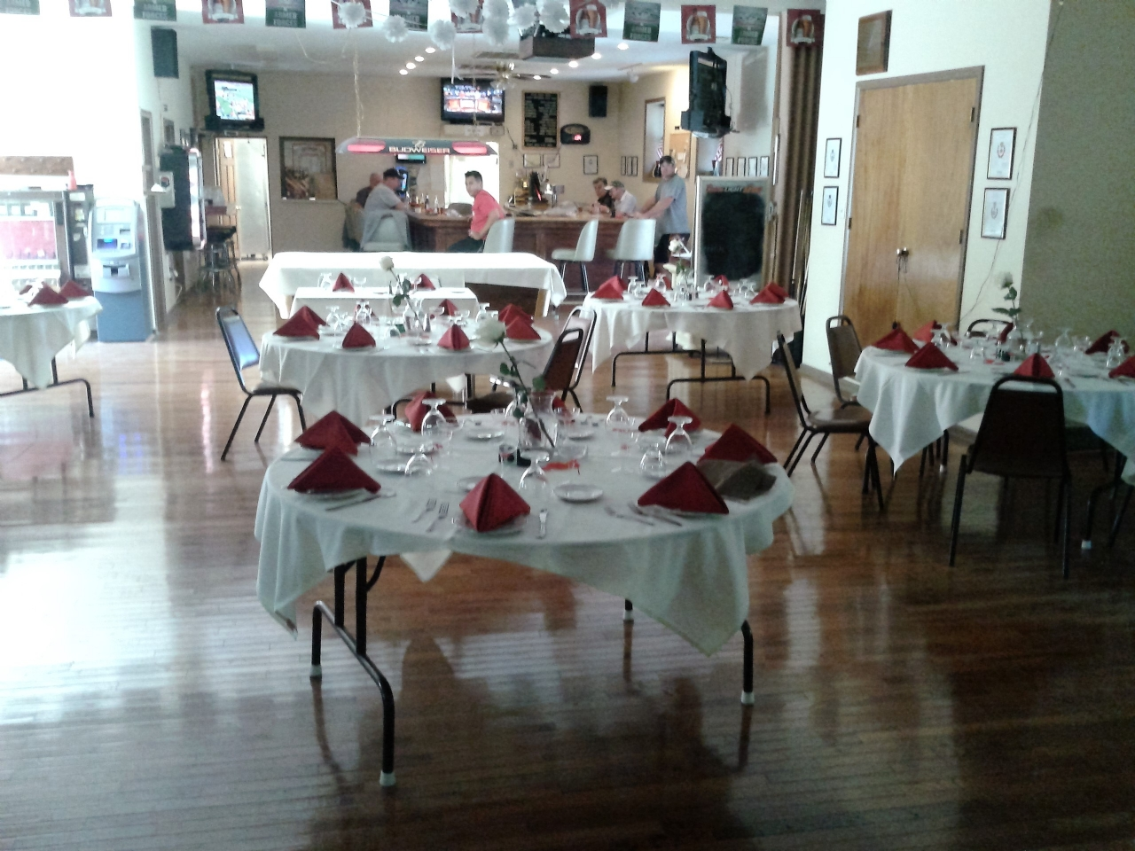 The Post's Canteen Hall is available for includes ample off street parking, stage,tables, chairs, linens and catering. Contact Bob Humes at 484-889-8337 or Qm@vfw7878.org for further information and dates available.